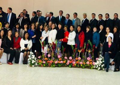 foto de grupo de personal directivo docente administrativo de la institución educativa